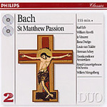 Bach: Matthew Passion (CD)