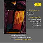 Boulanger: Psalms; Stravinsky: Symphony of Psalms (CD)