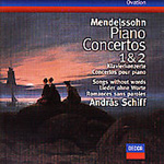 Mendelssohn: Piano Concertos 1 & 2; Songs Without Words (CD)