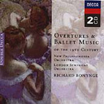 19th Century Overtures & Ballet Music (CD)