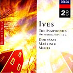 Ives: Symphonies No.s 1-4 (CD)