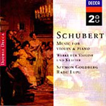 Schubert: Violin Sonatas (CD)
