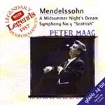 Mendelssohn: A Midsummer Night's Dream & Symphony No.3 'Scottish' (CD)