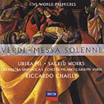 Verdi: Sacred Works (CD)