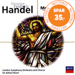 Produktbilde for Handel: Messiah highlights (USA-import) (CD)