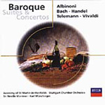 Baroque Suites and Concertos (CD)