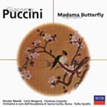 Puccini: Madama Butterfly (highlights) (CD)