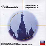 Shostakovich: Symphonies Nos 5 and 9 (CD)
