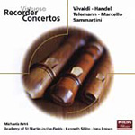 Baroque Recorder Concertos (CD)
