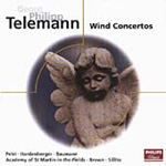 Telemann: Wind Concertos (CD)