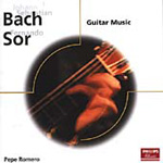 Bach; Sor: Guitar Music (CD)