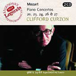Mozart: Piano Concertos Nos. 20, 23,24,26 and 27 (CD)