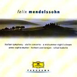 Mendelssohn: Symphony No.4; Violin Concerto etc (CD)