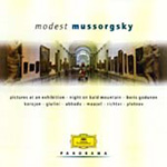Mussorgsky: Pictures at an Exhibition (Orch & Pf versions) etc (CD)