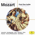 Mozart: Cosi fan tutte (highlights) (CD)