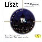 Produktbilde for Liszt: Hungarian Rhapsodies (USA-import) (CD)
