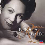 Produktbilde for The Great Renata Tebaldi (CD)
