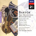 Bartok: The Orchestral Masterpieces (CD)