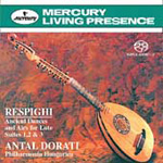 Respighi: Ancient Airs and Dances (SACD)