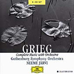 Grieg: Complete Music with Orchestra (CD)