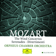 Mozart: Wind Concertos; Serenades; Divertimenti (CD)