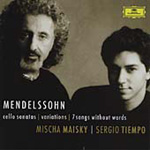 Mendelssohn: Cello Sonatas (CD)