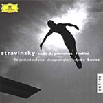 Stravinsky: Sacre du Printemps; Firebirds (CD)