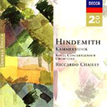 Produktbilde for Hindemith: Kammermusik (CD)