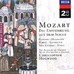 Mozart: Die Entführüng aus dem Serail, 'The Abduction from the Seraglio' (CD)