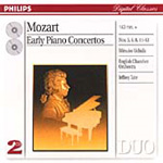 Mozart: Early Piano Concertos (CD)