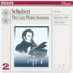 Schubert: The Late Piano Sonatas (CD)