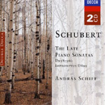 Schubert - Late Piano Sonatas (CD)