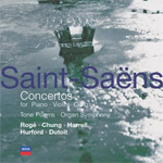 Saint-Saëns: Concertos; Tone Poems (CD)
