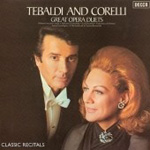 Tebaldi and Corelli - Great Opera Duets (CD)