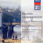 Brahms; Mendelssohn: Cello Sonatas (CD)