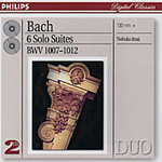 Bach: (6) Solo Suites, BWV1007-1012 (CD)