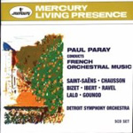Paray conducts French Orchestral Works (CD)
