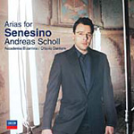 Andreas Scholl - Arias for Senesino (CD)