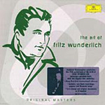 Produktbilde for The Art of Fritz Wunderlich (CD)