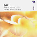Kodály: Cello Sonata; Duo for Violin and Cello (CD)