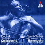 Dvorák. Saint-Saëns: Cello Concertos (CD)