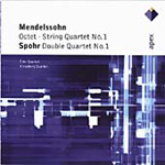 Mendelssohn: Octet, Op. 20 String Quartet No. 1, Op.12; Spohr: Double Quartet, Op. 65 (CD)