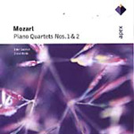 Mozart: Piano Quartets Nos. 1, KV 478 and 2, KV 493 (CD)