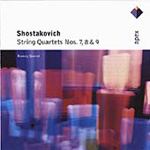 Shostakovich: String Quartets Nos. 7,8 and 9 (CD)