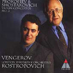 Prokofiev/Shostakovich: Second Violin Concertos (CD)