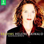 Brahms: Piano Pieces (CD)