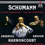 Schumann: Piano & Violin Concertos (CD)