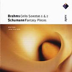 Brahms; Schumann: Works for Cello & Piano (CD)