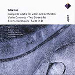 Sibelius: Concerto for Violin; Serenades; Humoresques; Suite (CD)