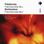 Rachmaninov/Tchaikovsky: Concertos for Piano and Orchestra (CD)
